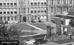 Addenbrooke's Hospital, Entrance 1938, Cambridge