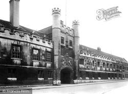 Cambridge, Christ's College 1925