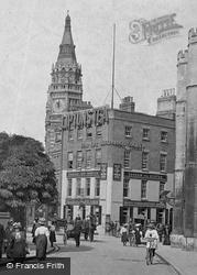 Clock Tower, St Andrew's Street 1908, Cambridge