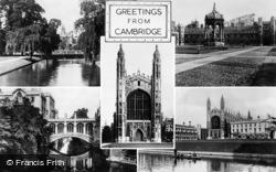 Cambridge, Composite c.1955