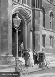 Corpus Christi College 1909, Cambridge