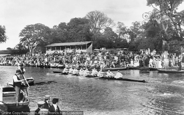 Cambridge, Eights On The Cam 1909