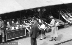 Cambridge, Fruit Stall 1938
