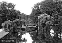 Cambridge, Gerrard Hostel Bridge c.1873