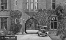 Girton College, Main Entrance 1929, Cambridge