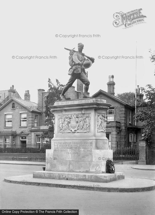 Photo of Cambridge, Hills Road War Memorial 1923