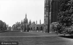 Cambridge, King's College 1933