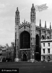 Cambridge, King's College 1963