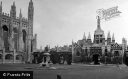 Cambridge, King's College c.1954