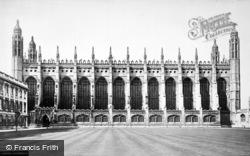Cambridge, King's College Chapel c.1873