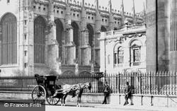 King's Parade 1890, Cambridge