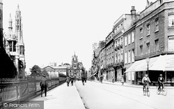 Cambridge, King's Parade 1911