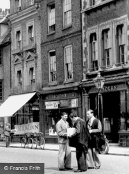 King's Parade 1933, Cambridge