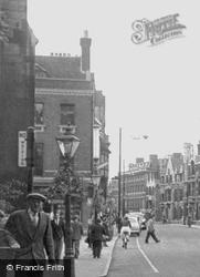 King's Parade c.1955, Cambridge