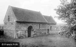 Cambridge, Leper Chapel 1914