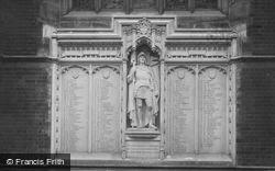 Leys School War Memorial 1923, Cambridge