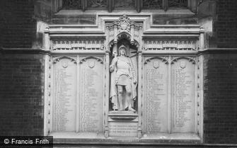 Cambridge, Leys School War Memorial 1923