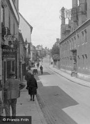 Magdalen Street 1925, Cambridge