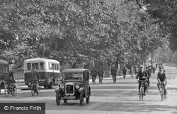 Maids Causeway 1931, Cambridge