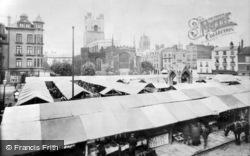 Cambridge, Market 1908