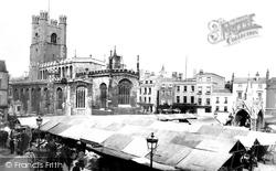 Cambridge, Market Place 1890