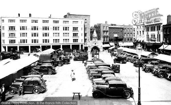 Cambridge, Market Place 1938