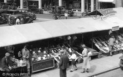 Cambridge, Market Stalls 1938
