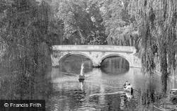 On The River Cam 1908, Cambridge