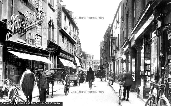 Photo of Cambridge, Petty Cury 1909
