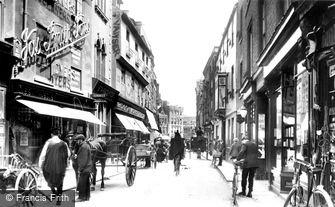 Cambridge, Petty Cury 1909