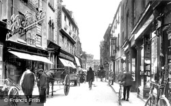 Petty Cury 1909, Cambridge