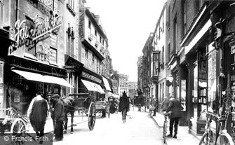 Cambridge, Petty Cury 1909