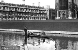 Cambridge, Punting 1908