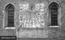 Queens' College, Moondial c.1860, Cambridge