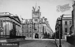 Cambridge, Senate House And Caius College, New Buildings c.1873