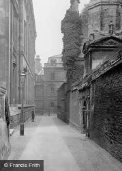 Cambridge, Senate House Passage 1914