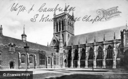 Cambridge, St John's College Chapel c.1873
