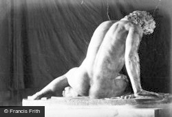 Cambridge, The Dying Gaul, Museum Of Classical Archaeology c.1890