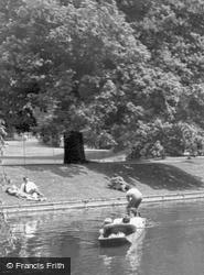 The River Cam c.1955, Cambridge