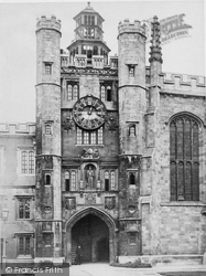 Cambridge, Trinity Clock Tower c.1873