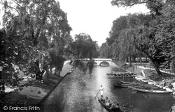 Cambridge, Trinity College Bridge 1929