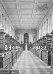 Cambridge, Trinity College, The Wren Library 1890