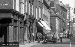 Trumpington Street c.1955, Cambridge