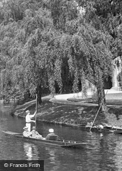 View On The Cam 1914, Cambridge