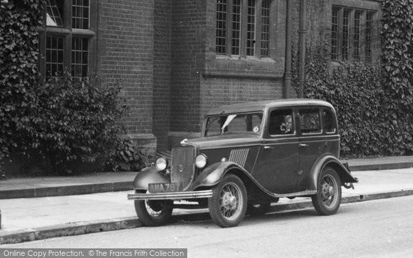 Photo of Cambridge, Vintage Car 1938