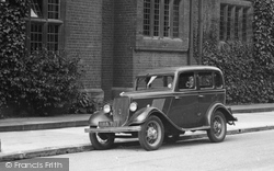 Cambridge, Vintage Car 1938