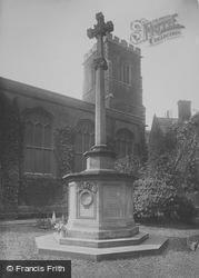 War Memorial, St Andrew's The Great 1923, Cambridge