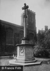 Cambridge, War Memorial, St Andrew's the Great 1923