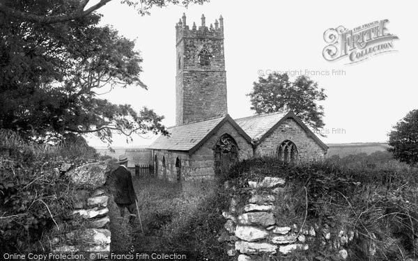 Photo of Camelford, Advent Church 1906
