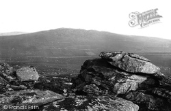 Camelford, Brown Willy From Rough Tor 1894